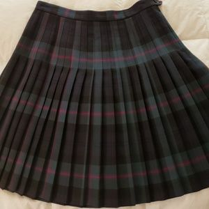 Classic Brooks Brothers Pleated Skirt